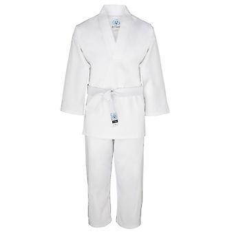 Bytomic vuxen vit v-ringad Uniform