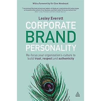 Corporate Brand Personality - Re-Focus Your Organization's Culture to