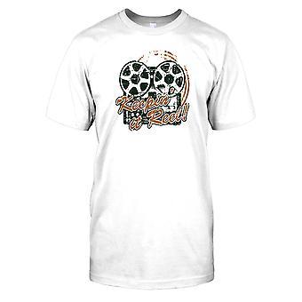 Holder det hjul - inspireret sjov film Herre T-shirt