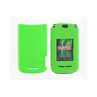 Snap On Case for Motorola Razr2 V8/V9m - Solid Green