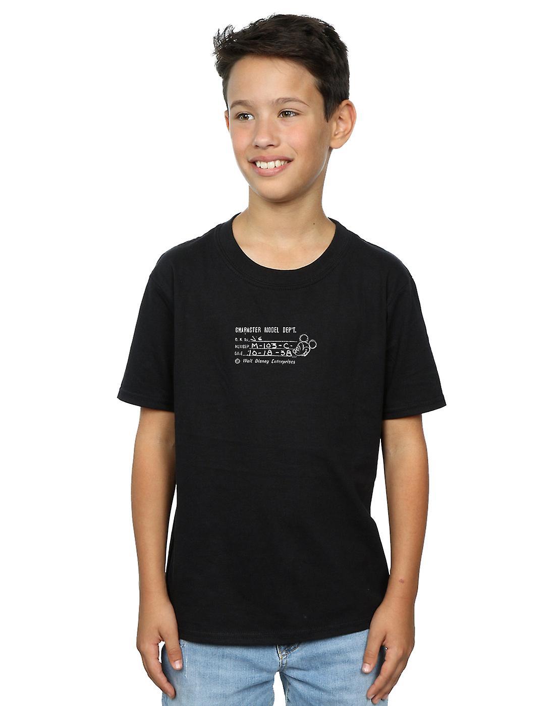 Disney Boys Mickey Mouse Character Model Dept. T-Shirt