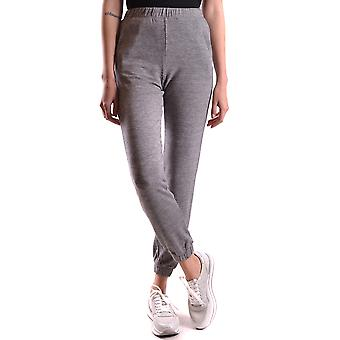 Twin-set Ezbc060021 Women's Grey Viscose Joggers