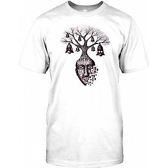 Træ af din sjæl - Cool Design Kids T Shirt