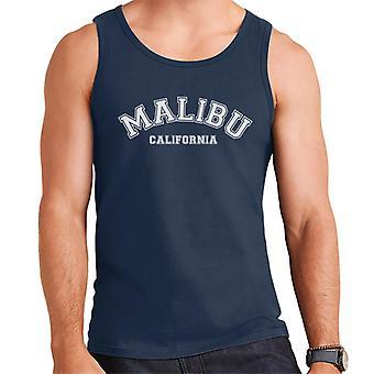 Malibu College teksti miesten liivi