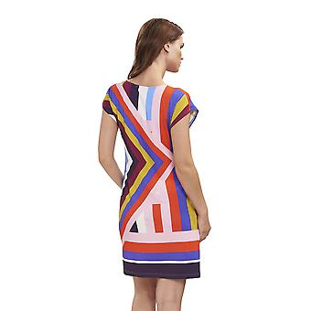 Féraud 3195100-16362 Women's Beach Graphic Multicolour Beach Dress