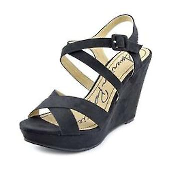 American Rag Womens Rachey Open Toe Ankle Strap Wedge Pumps