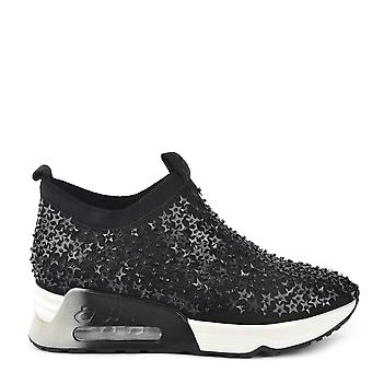 Ash Schuhe Beleuchtung Sterne schwarz verziert Trainer