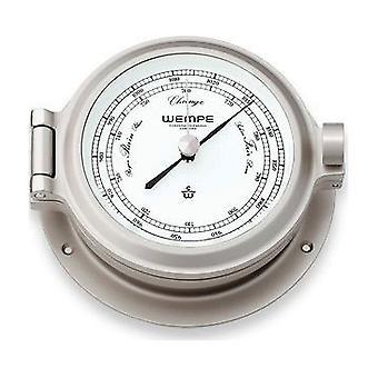 Wempe chronometer works nautical porthole barometer CW130002