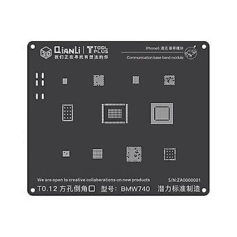 QianLi 3D BGA Stencil Mall - Communication Base Band Module - iPhone 6 - BMW740