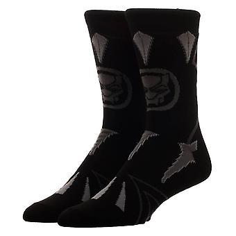Wunderschwarzer Panther Suit Up Crew Socken
