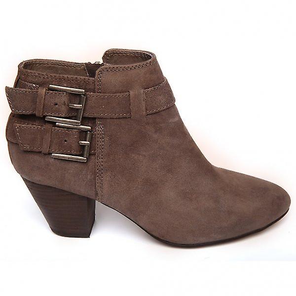 Ash Footwear Jason Mid-Heel Leather Ankle Boot BQoz1