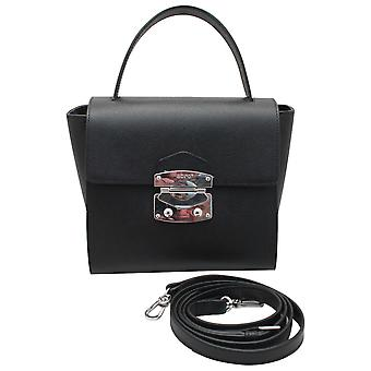 Abro Mini Leather Grab Handle Handbag