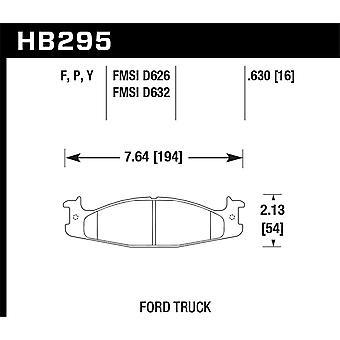 Hawk Performance HB295Y.630 LTS
