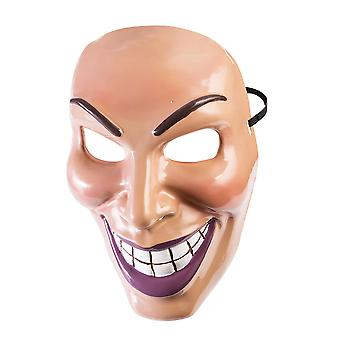 Bristol Novelty Unisex Adults Male Evil Grin Mask
