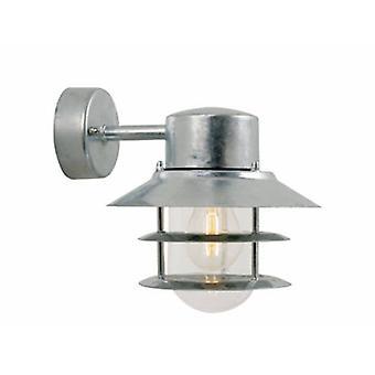 1 Light Outdoor Downlight Galvanised Ip54