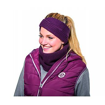 Eskadron Fanatics Knitted Loop Neckwarmer - Blackberry