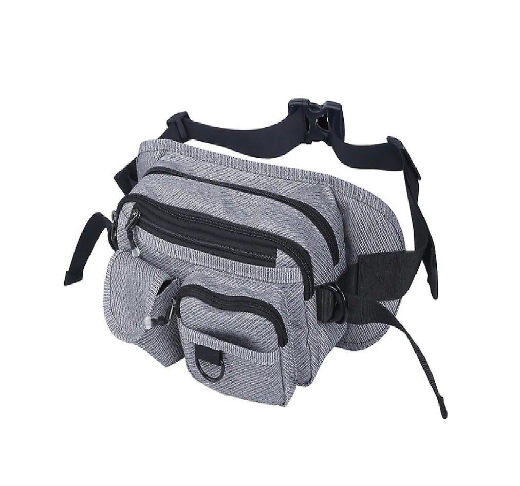 Tuba And Christmas Hat Sport Waist Pack Fanny Pack Adjustable For Hike