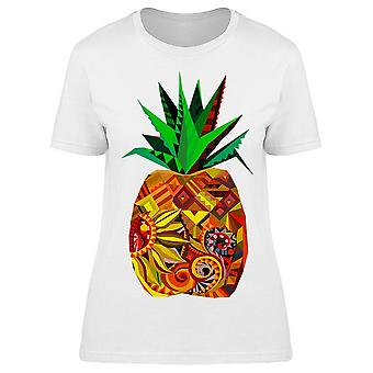 Pineapple Ananas Fruit Graphic Tee Women's -Image by Shutterstock