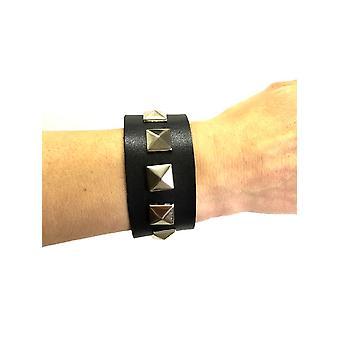 Punk bezaaid armband