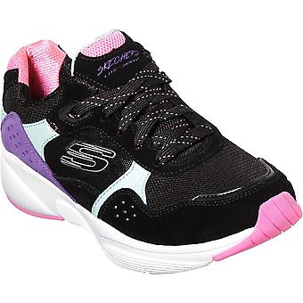 Skechers Womens Meridian-No Worries Colour Blocked Gym Shoes
