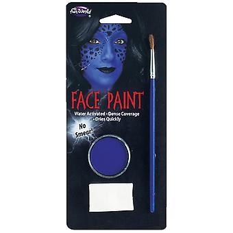 Farba do twarzy Niebieski Makijaż