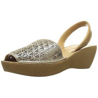 Kenneth Cole Reaction Womens Fine Glass 3 Peep Toe Casual Platform Sandals