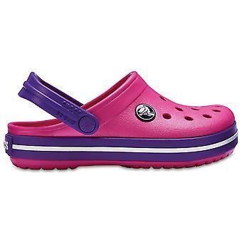 Crocs Kids Crocband sko paradis pink/Amethyst