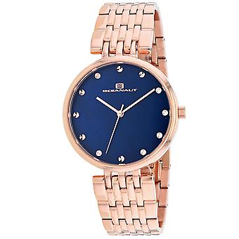 Oceanaut Women's Aerglo Blue MOP Dial Watch - OC2204