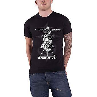 Devildriver T Shirt Baphomet  Band Logo new Official Mens Black