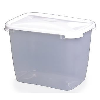 Wham opslag 2,4 liter keuken diepe rechthoekige plastic voedsel doos