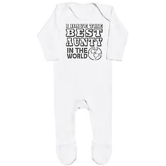 I Have The Best Aunty In The World Baby Romper