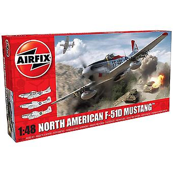 Airfix A05136 Nord-Américain F51D Mustang 1:48 Modèle Kit
