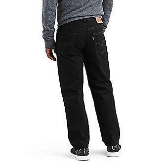 Levi ' s men ' s 550 avslappnad passform Jean-Big & tall, svart,, svart, storlek 36W x 38l