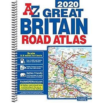 Groot-Brittannië Road Atlas 2020 A4 spiraal