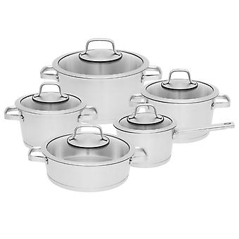 BergHOFF Cookware Set 10-pcs. Manhattan