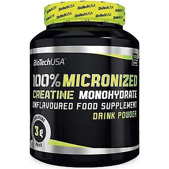 BiotechUSA 100% Creatine Monohydrate Unflavoured 500 g