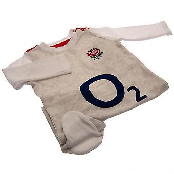 L'Angleterre RFU bébé grenouillères
