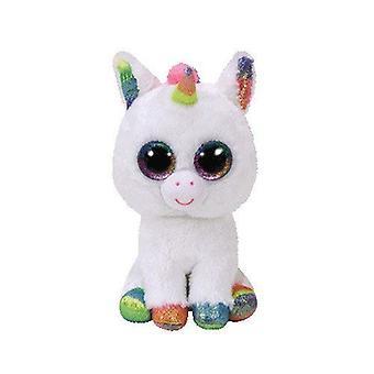 Ty Pixy Unicorn Beanie Boo 15cm biała zabawka