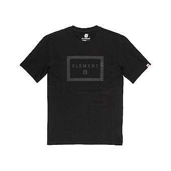 Element Banzer Short Sleeve T-Shirt em Flint Black