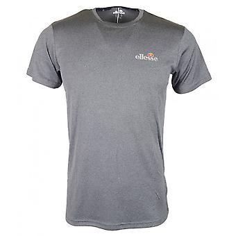 Ellesse Becketi Black Marl Polyester T-shirt