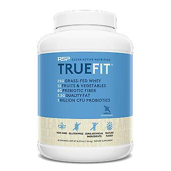 Rsp truefit protein powder, meal replacement shake, natural whey protein (vanilla)