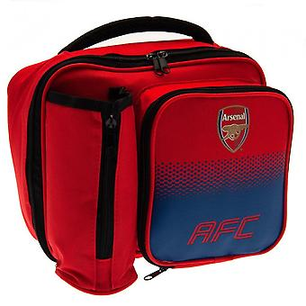 Arsenal FC Official Fade Pattern Lunch Bag