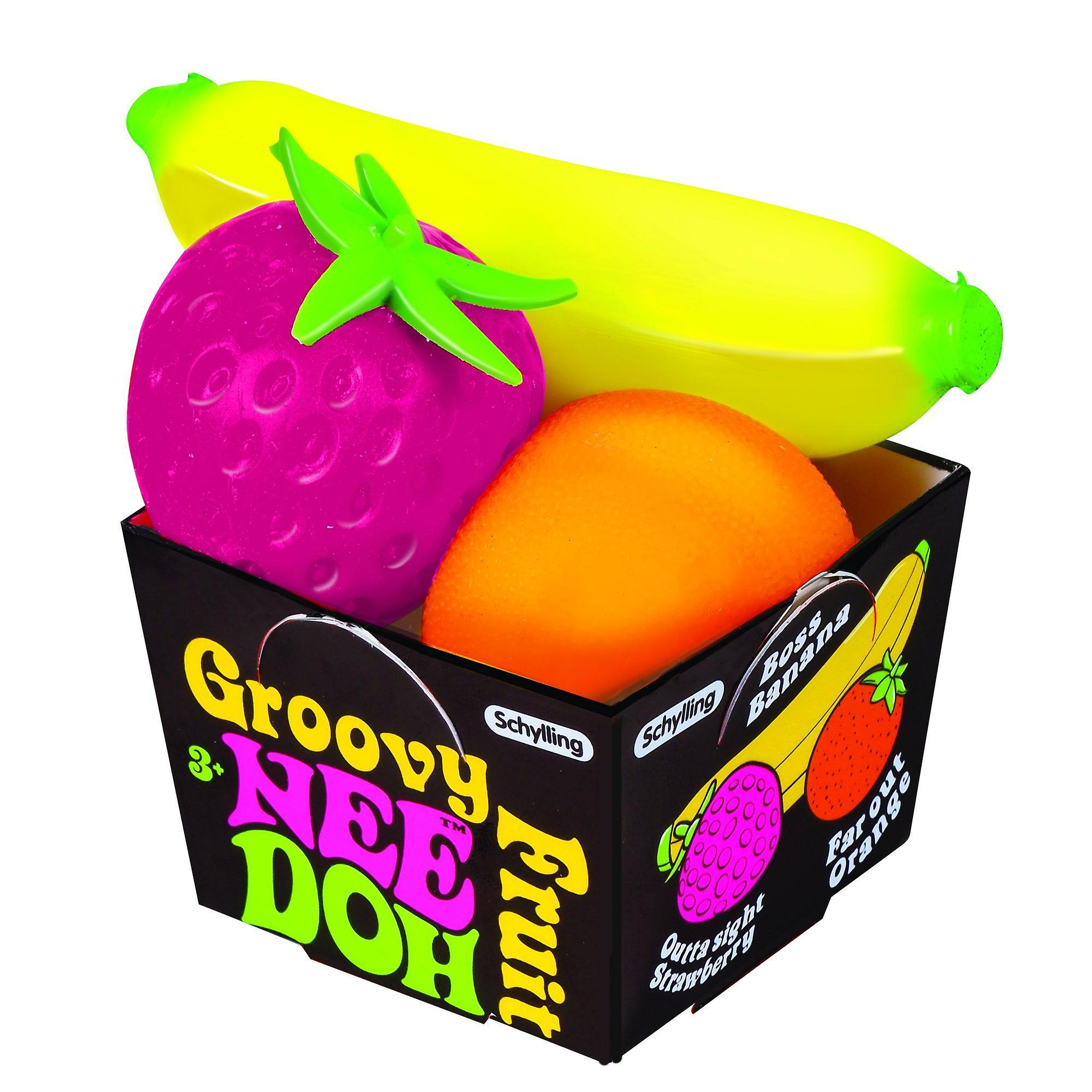 Schylling - groovy fruit nee-doh