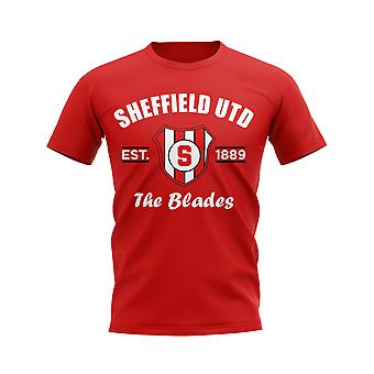 Sheffield United Established Football T-Shirt (Red)
