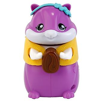 Vtech PetSqueaks Hattie Hamster Pocket Sized Robotic Pet Purple