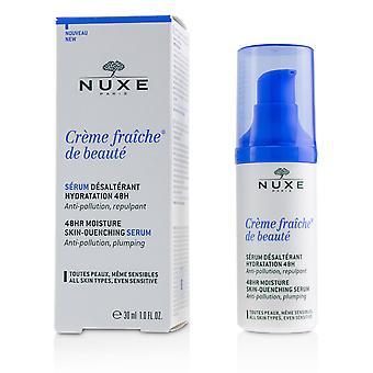 Creme fraiche de beaute 48 uur vochthuidverdoofend serum (voor alle huidtypes, zelfs gevoelig) 224718 30ml/1oz