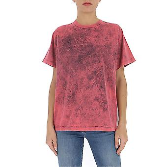 Stella Mccartney 596957snw458515 Women's Pink Cotton T-shirt