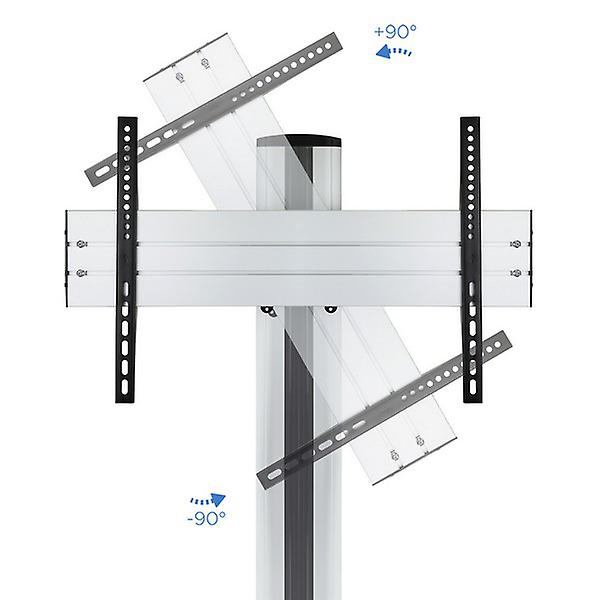 """Fixed TV Support TooQ FS2170M-B 37"""" - 70"""" 65 kg Silver"""