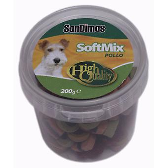 Sandimas Soft Mix Canister (Dogs , Treats , Chewy and Softer Treats)