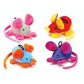 Freedog Teddy Mouse 9x5cm (Dogs , Toys & Sport , Stuffed Toys)